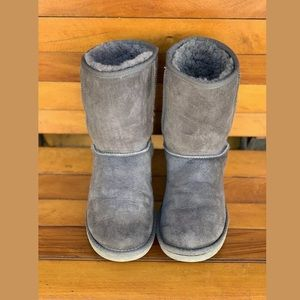 UGG AUSTRALIA Classic Short  - Gray Women's Size 7
